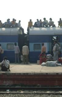 Spaccati microcosmici, sui treni indiani